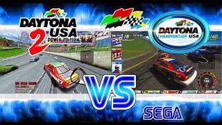 Daytona Championship USA Vs Daytona USA 2: Power Edition