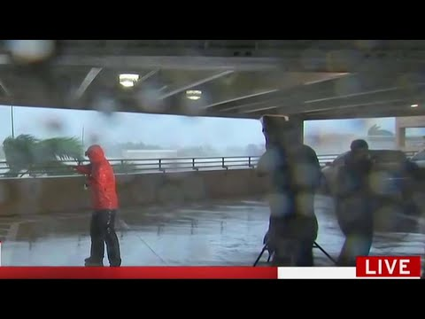 Download Youtube: Anatomy of a Hurricane Reporting Scene on TV | MSNBC