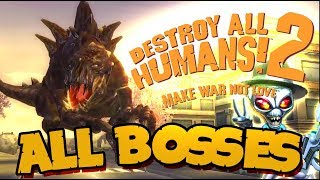 Destroy All Humans! 2 All Bosses (PS4, PS2, XBOX) thumbnail