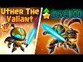 Monster Legends: Uther The Valiant (Level 1 to 100) + Combat PVP