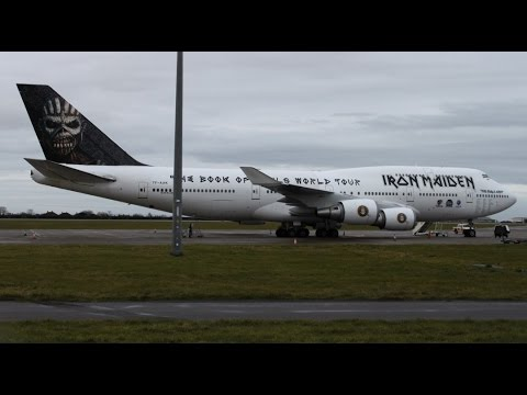 iron maiden 39 s ed force one schiphol by edith de boer. Black Bedroom Furniture Sets. Home Design Ideas
