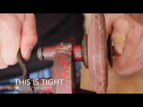Antique Hand Cranked Grinder Restoration - Genuine Becon