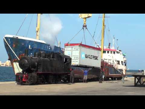 Eritrea - Loading the First Freight for 38 years