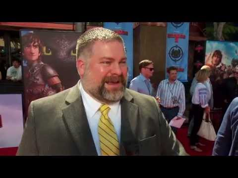 How To Train Your Dragon 2: Director Dean DeBlois Red Carpet Movie Premiere Interivew