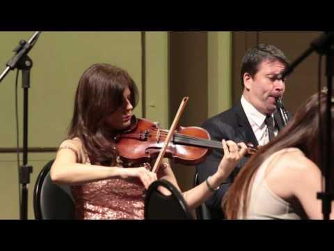 Brahms Clarinet Quintet- Cuarteto Filarmonico y Mariano Rey