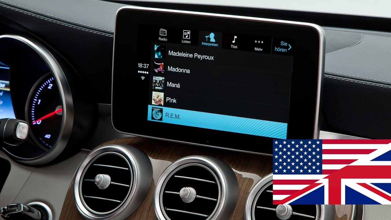 how to use carplay mercedes benz