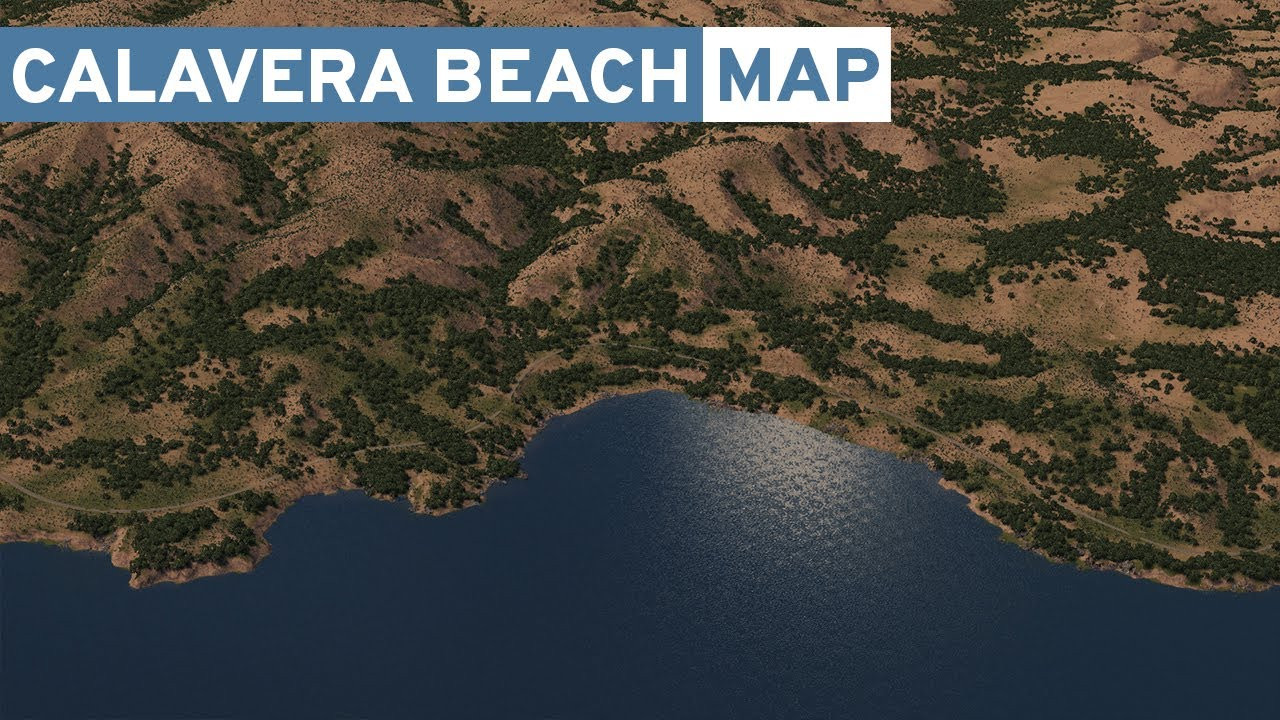 California Coast! - Cities Skylines: Calavera Beach - Map Creation on