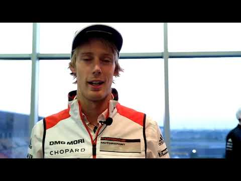WEC - 2017 6 Hours of Shanghai - Brendon Hartley  Interview (Porsche)