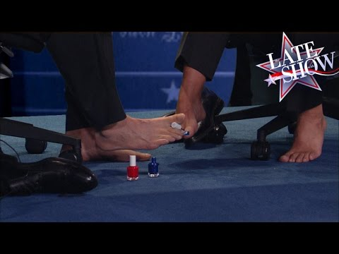 A Peek Under The Table At The VP Debate