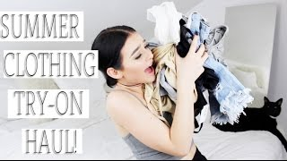 TRY-ON summer online clothing haul! |