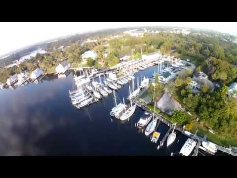 Melbourne Florida aerial tour