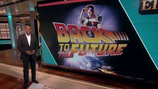 Caseen Gaines Discusses Back to the Future on Entertainment Tonight (2015)