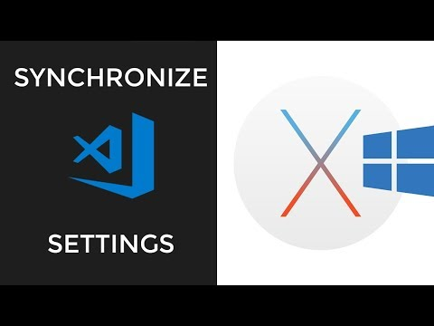 Synchronize VScode Settings Between Different Machines (Mac/Windows)