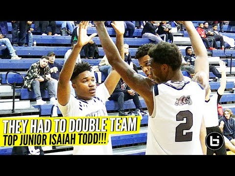 TOP 10 JUNIOR Isaiah Todd Faces DOUBLE TEAMS At 2018 Crown Town Classic!