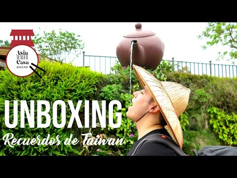 Recuerdos de Taiwan / Unboxing My Travel Souvenirs