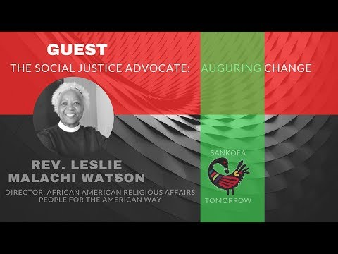 FUTURES FORUM LIVE-SIGNIFYING:THE FUTURE HISTORY OF BLACK AMERICA with REV. LESLIE MALACHI WATSON