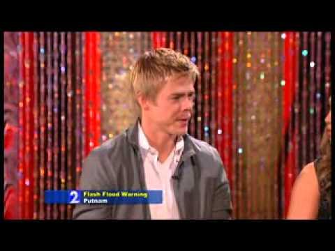 Derek & Cheryl Burke on Regis and Kelly