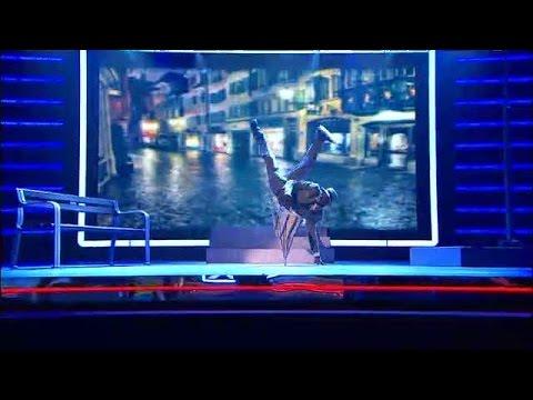 Isse Omari dansar kungligt - Talang (TV4)