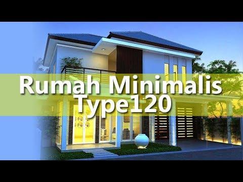 Contoh Denah Dan Desain Rumah Minimalis Type 120 1 Dan 2 Lantai