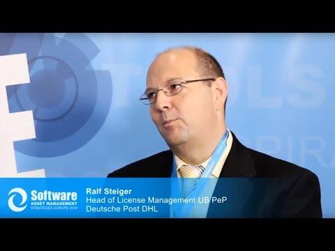 Interview with Ralf Steiger, Leader License Management, Deutsche Post IT Brief GmbH / Germany