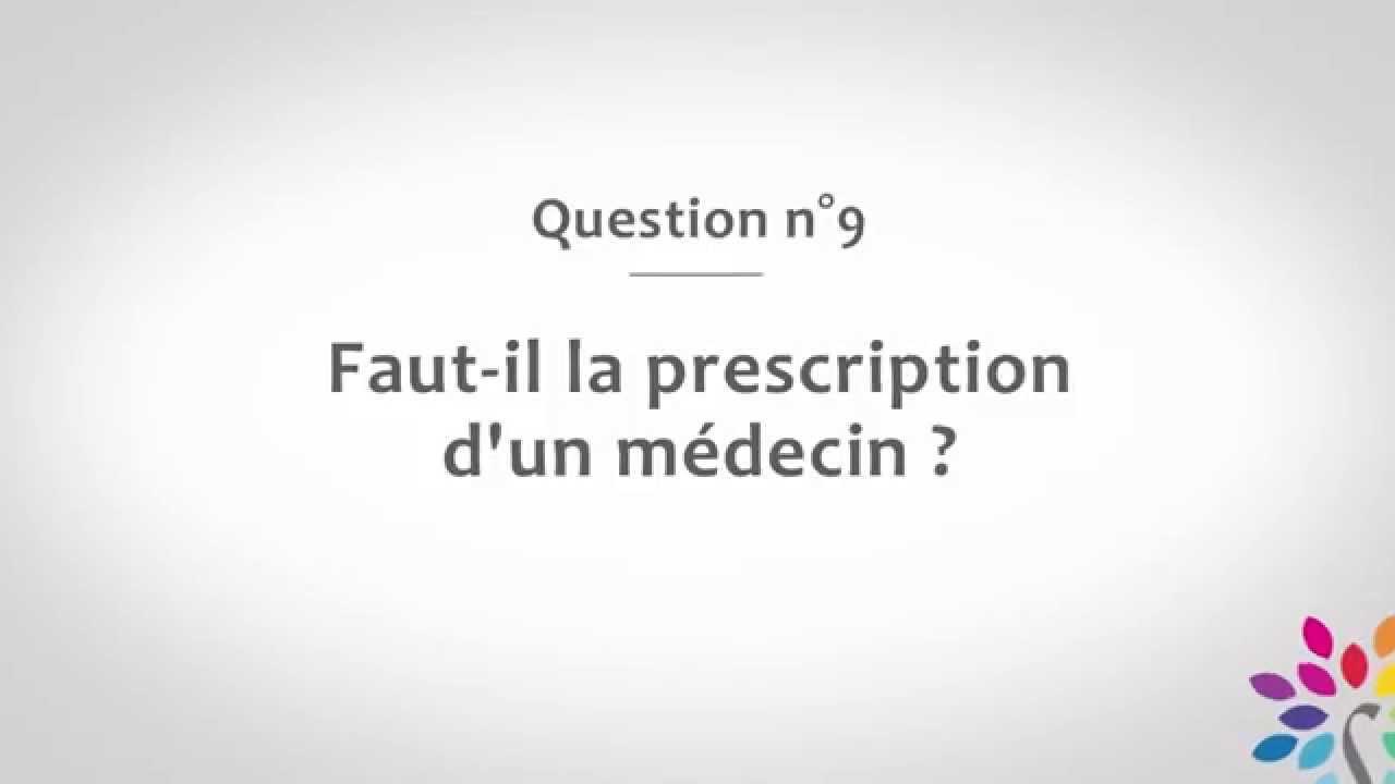 Faut-il la prescription d'un medecin pour faire de la sophrologie?