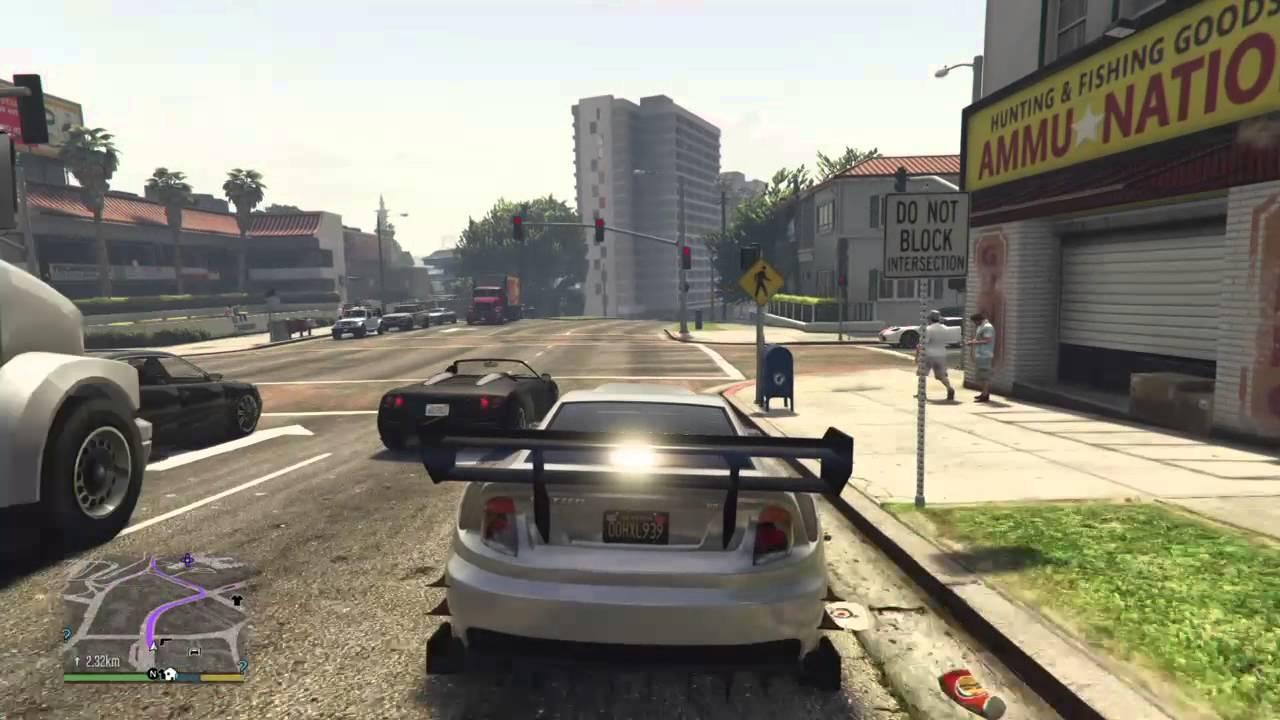 Тюнинг автомобилей в GTA 5 #2