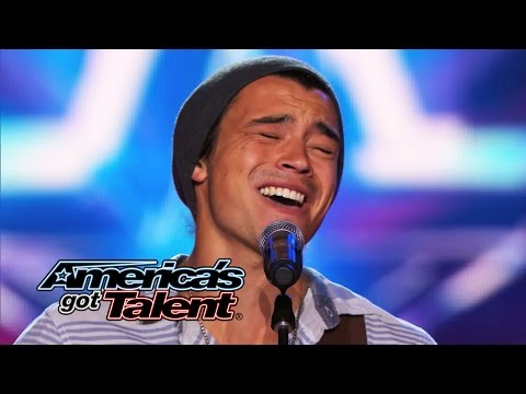 Miguel Dakota: Musician Sings Emotional Heartless   Americas Got Talent 2014