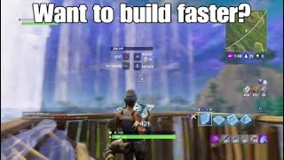FORTNITE - HOW TO HAVE A RAMP BLUEPRINT NEXT TO YOUR WALL (PS4 & XBOX)