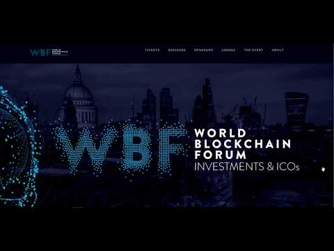 🌍Keynote World Blockchain forum  Investments and ICO's.
