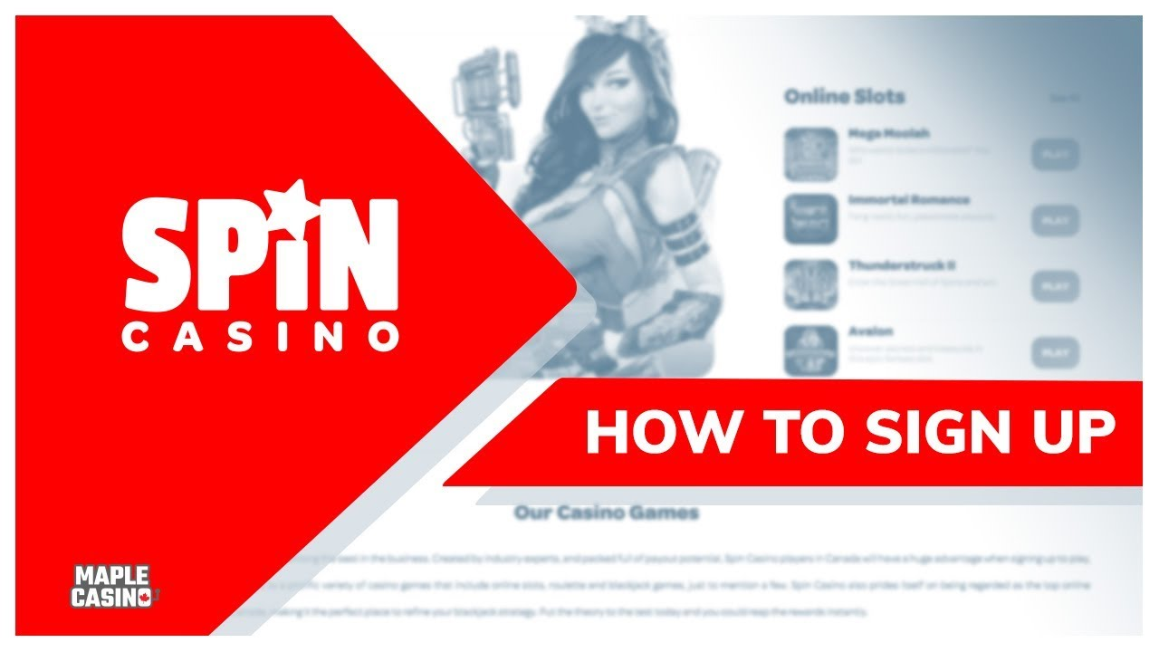 Spin Casino | Review The Smooth Sign-Up Process | 2020