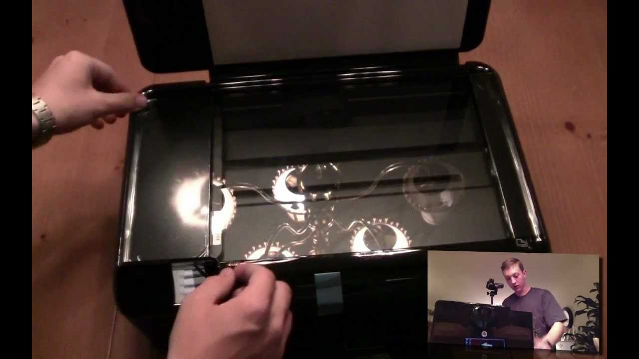 hight resolution of hp photosmart d110 printer unboxing