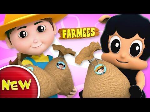 Baa Baa Black Sheep | Nursery Rhymes | Kids Song | Baby Rhymes by Farmees