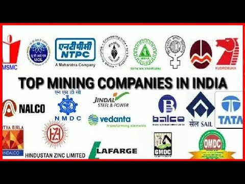 TOP MINING COMPANIES IN INDIA|| PRIVATE COMPANIES|| GOVERNMENT COMPANIES|| MINING WORLD