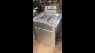 Bán máy làm kem cuộn thái lan giá rẻ  [ chão vuông ] . Lh 0934468222