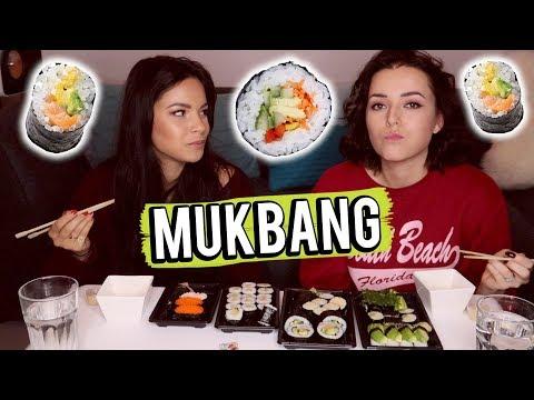 Sushi mukbang met Monica Geuze! | Beautygloss