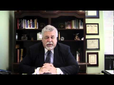 Attorney Holt talks about Financial aspect of Divorce 1