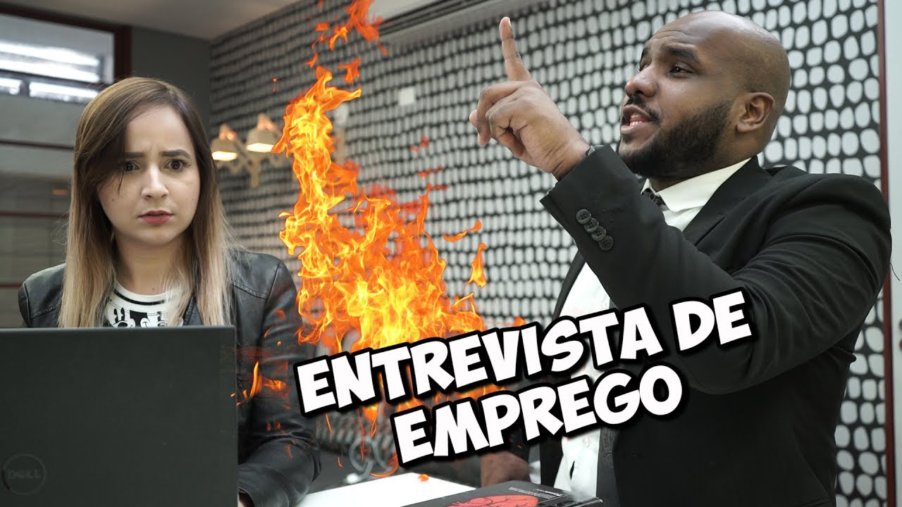 PENTECOSTAL na ENTREVISTA DE EMPREGO ft. Fabiola Melo - Pr. Jacinto Manto | Tô Solto