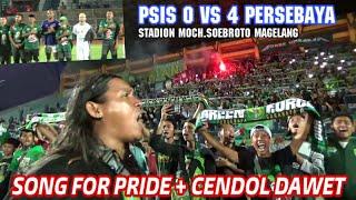 Ambyar..!! Song for Pride diakhir laga PSIS vs Persebaya 0-4 Stadion Moch. Soebroto Magelang