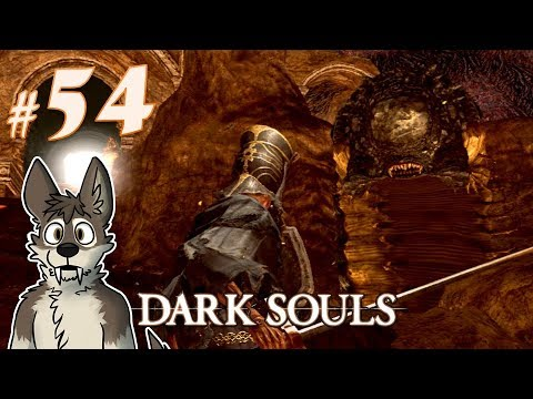 DARK SOULS Let's Play Part 54 (Blind) || WORMS FROM HELL || DARK SOULS Gameplay