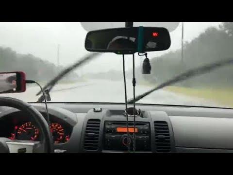 Hurricane Michael - WDHN News out in Dothan, 10/10/18