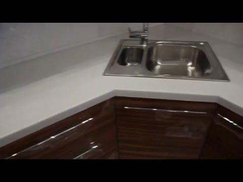 Столешница для кухни из искусственного камня Tristone S-203 SNOW PEARL