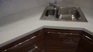видео Столешницы для кухни в размер