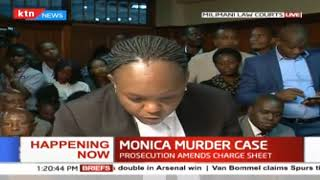 Monica Murder Case: Prosecution against the release of Jacque Maribe and Joseph Irungu on bail