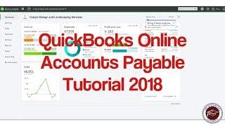 Quickbooks Online-Kreditoren-Tutorial 2018 - Verständnis AP in Quickbooks Online