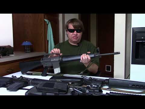 Revisiting Colt's AR15 Rifle - 601, XM16E1, M16A1, M16A2, & M16A4