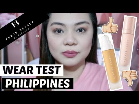 FENTY BEAUTY PRIMER AND FOUNDATION REVIEW I PHILIPPINES