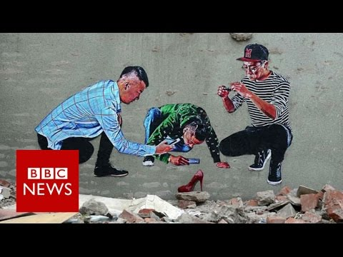 ROBBBB: My art is a reflection of the China I live in - BBC News