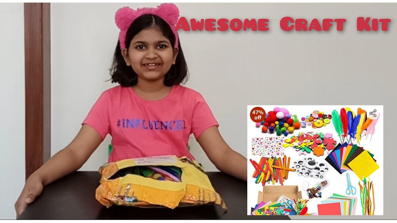 Crafts Kit Unboxing