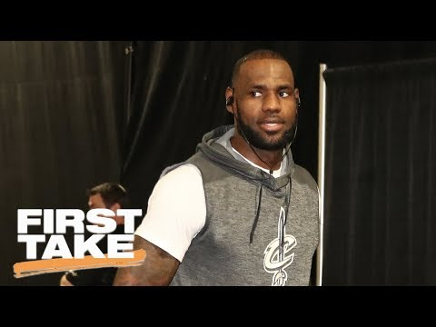 LeBron James Says He Didn't Start Super Teams | First Take | June 16, 2017