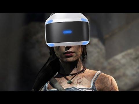 Rise of The Tomb Raider VR Gameplay Walkthrough Part 1 - I FEEL SICK (Blood Ties DLC)